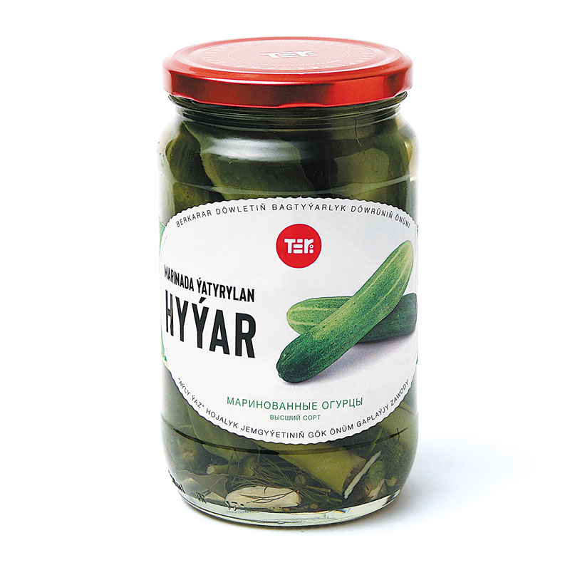 Teri Pickled Cucumbers 720 g