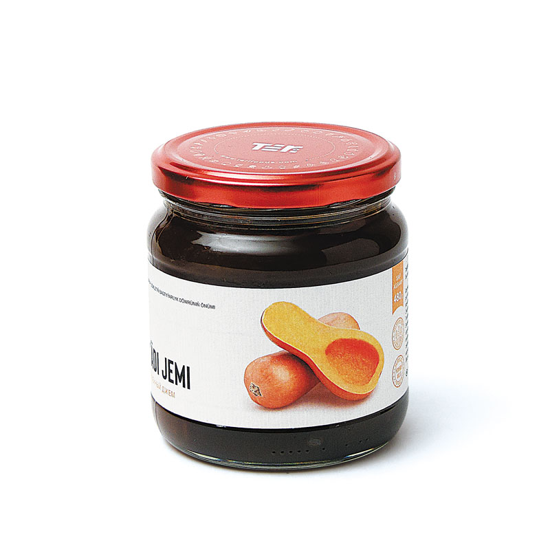 Teri Pumpkin Jam 480 g